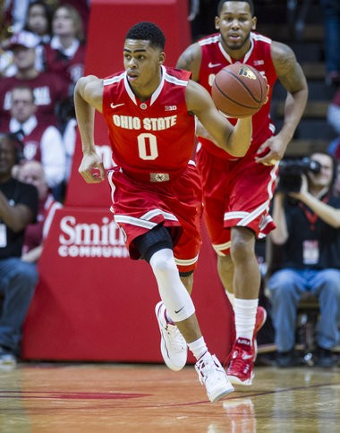 Ohio State freshman D'Angelo Russell's rise has helped Ohio State climb back near the top of the Big Ten standings.