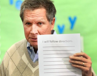 Ohio Gov. John Kasich has rolled out a new budget plan, which calls for changes in funding formulas for Ohio school districts.