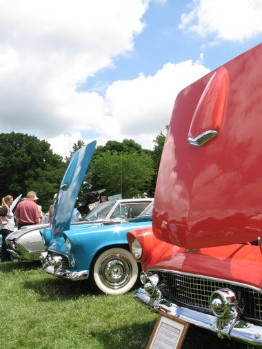 "Stan Hywet's Father's Day Car Show featuring historic family vehicles, a display of ""microcars"" and live music."