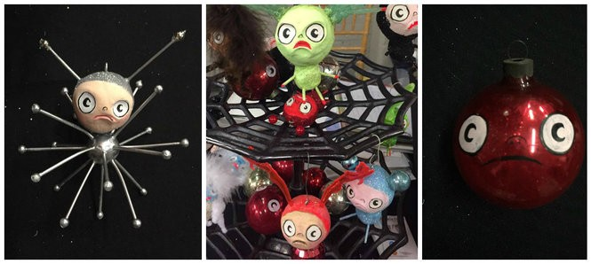 Ornaments by Angela Oster
