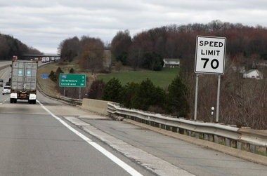 The Ohio Turnpike's 70 mph speed limit could soon be common on rural stretches of Ohio's interstates.