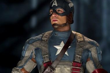 """Chris Evans as Captain America, in a scene from """"Marvel's The Avengers."""""""