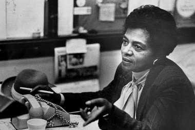 Judge Sara J. Harper in 1985.