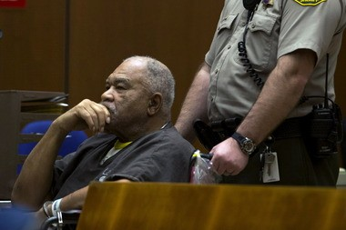 Samuel Little appears in a Los Angeles courtroom, where he is accused of killing three women in the 1980s. Authorities say Little, 72, who grew up in Lorain, may be a suspect in other slayings.