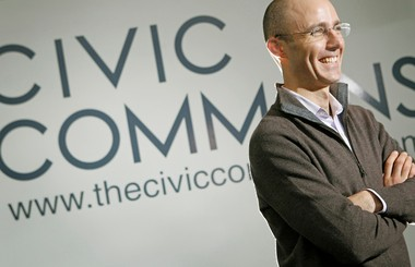 Dan Moulthrop, the City Club's new chief executive officer, pictured in January 2012. He helped create The Civic Commons, a project aimed at social media and creating a productive civil dialogue.