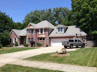 The house in Rocky River where Chris Perez and his wife, Melanie, live.