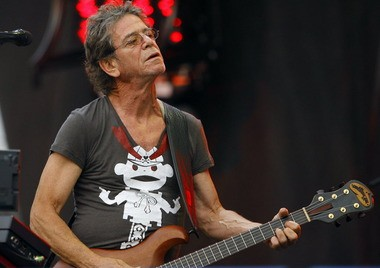 Lou Reed at the Lollapalooza music festival in Chicago in 2009.