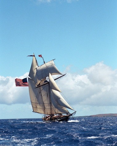 The Lynx, representing the type of schooner used during the War of 1812, will visit here as part of the Port of Cleveland 2013 Tall Ships Festival.