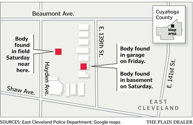 A map of the crime scene