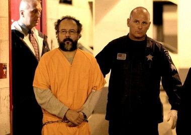 Authorities lead Ariel Castro out of the Cuyahoga County Jail for his trip to the Lorain Correctional Institution last week. He has since been transferred to the Corrections Reception Center in Orient, southwest of Columbus.