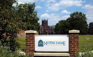 Notre Dame College's comprehensive program to help students with learning disabilities led a foundation to provide a challenge grant.