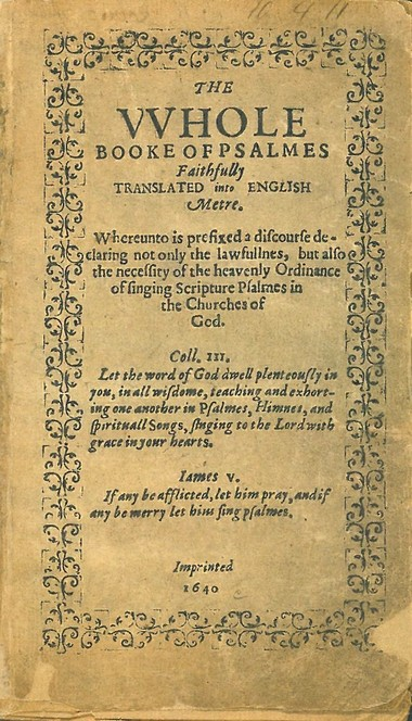 America's first book, from 1640, in Cleveland library 6-hour