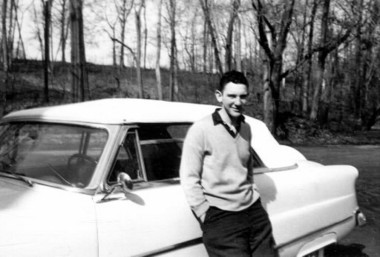 Peter Lewis in 1954, the year before he graduated from Princeton University.
