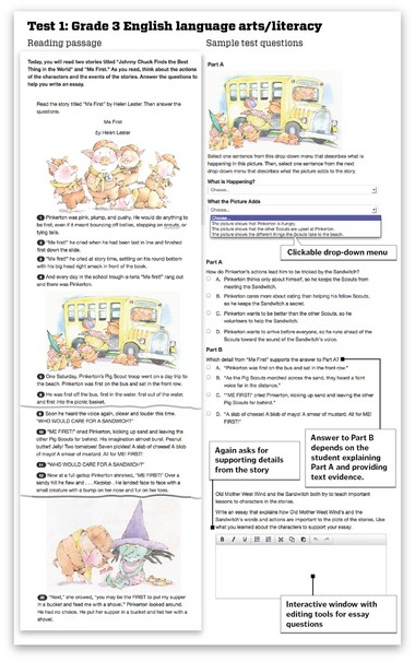 Take a sneak peek at the new Common Core exams that are