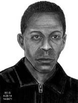 Shaker Heights police released this sketch of the man who robbed and punched a 76-year-old woman outside the Nile Valley Restaurant she's owned since 1991.