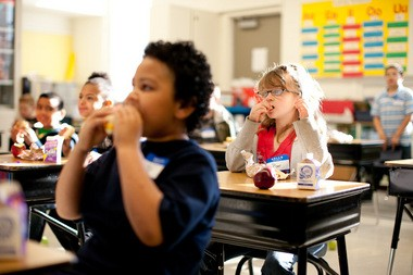 "More than one in four low-income children in Ohio do not have access to nutritious meals during the summer months when school is out, according to the ""Hunger Doesn't Take a Vacation"" study by the Food Research and Action Center. Photo provided by the Ohio Association of Foodbanks."