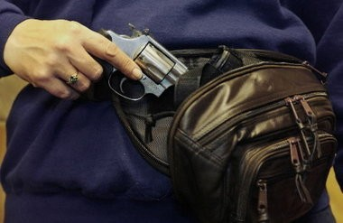 Cleveland police say a CCW permit holder accidental shot himself and another man Sunday night.