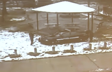 Police shown just after shooting Tamir Rice in Cudell Park