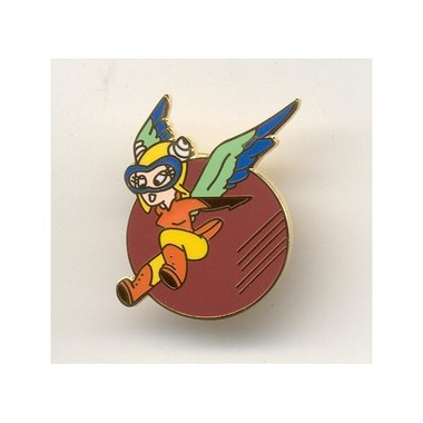 Fifinella was the mascot of WASP