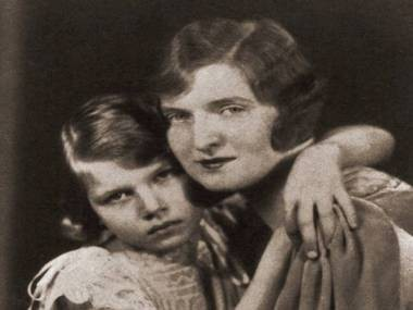 Nan Britton and her daughter, Elizabeth Ann, in an undated photo. Recent DNA tests have proven the Britton's claim that Warren G. Harding was the father of her daughter was true.