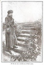 Illustration from The Strand magazine, 1926