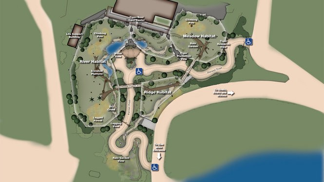 Cleveland Metroparks Zoo unveils new tiger lair (photos, map ... on