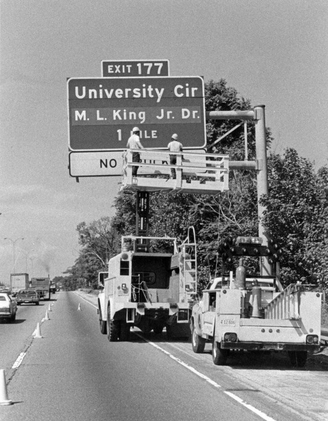 Martin Luther King Jr  was a frequent visitor to Cleveland