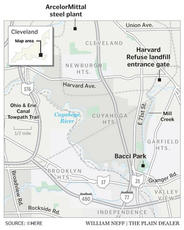 Fate of Mill Creek landfill at stake: A future park? Or a