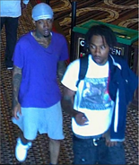 Two wanted for theft from Cincinnati Horseshoe Casino