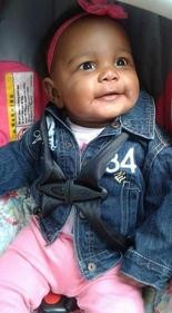 Aavielle Wakefield, age 5 months, was shot and killed in October while sitting in a car. (Family photo)