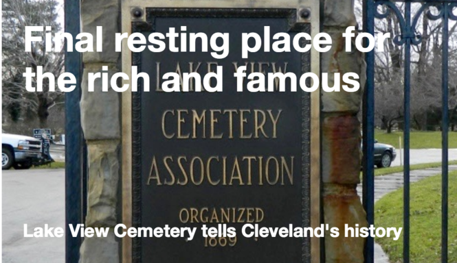 These 15 grave markers tell stories of Cleveland's history