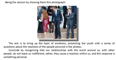 Catholic critics of the Vatican's newly-released sex ed program for teenagers say that some of the anecdotes and photographs it uses to spur class discussions - such as this picture of President Obama looking at a woman's buttocks - are inappropriate and vulgar.