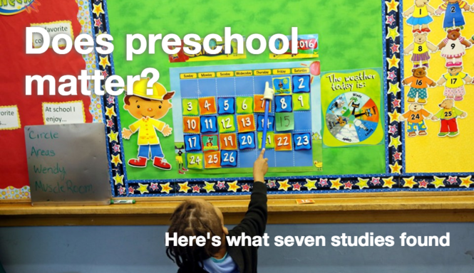 Does Pre K Make Any Difference >> How Much Difference Does Preschool Make Here S What 7 Studies Say