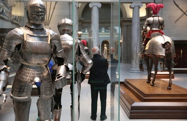 Knights in shining armor have long been a popular attraction at the Cleveland Museum of Art. (Thomas Ondrey/The Plain Dealer)