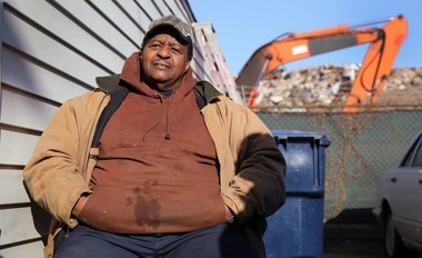 Noble Road resident Harry Drummond said he felt like dancing in the street after he heard the dump behind his house would be shut down and cleaned up.