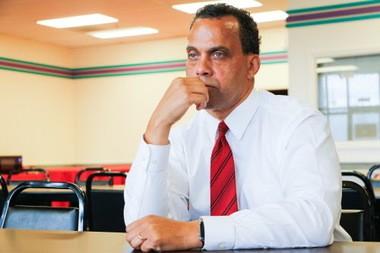 The SEIU announced Monday they would endorse Jeff Johnson for Cleveland mayor. (Mark Naymik, cleveland.com)