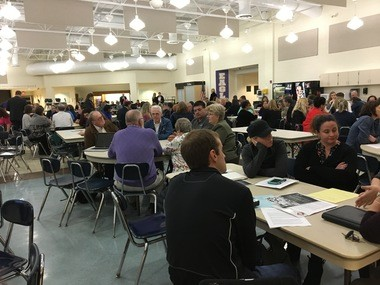 About 150 educators, administrators and local officials gathered at Avon High School Wednesday night to air their issues with Ohio's proposed plans under the Every Student Succeeds Act (ESSA).