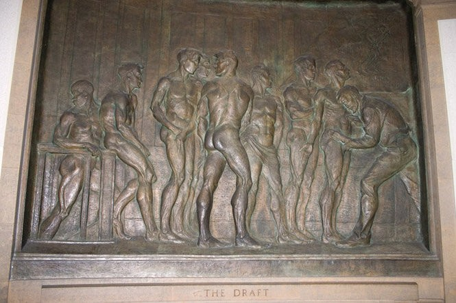 Ohio State's dramatic World War I memorial in storage