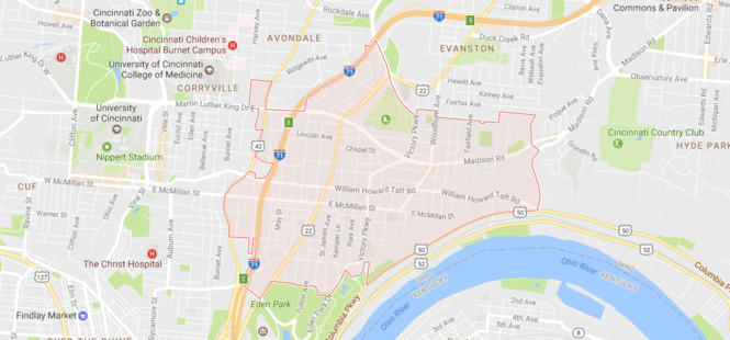 25 Ohio ZIP codes with the highest rates of license