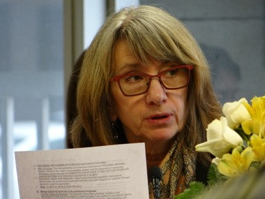 State school board member Pat Bruns
