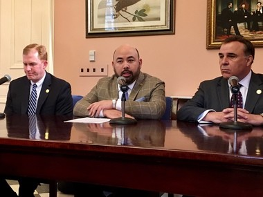 House Republicans made more than 300 revisions to the state's two-year budget proposed by Gov. John Kasich. House Finance Committee Chairman Ryan Smith, Speaker Cliff Rosenberger and Speaker Pro Tempore Kirk Schuring said the budget reduces spending while directing dollars toward education and fighting the state's opioid abuse crisis.