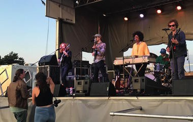 Saintseneca, a popular indie rock band from Columbus, performs Saturday at the NEOCycle festival at Edgewater Park.