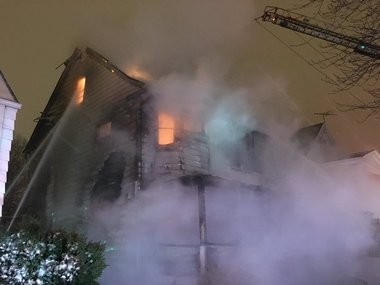 Adults, children reported missing in house fire on