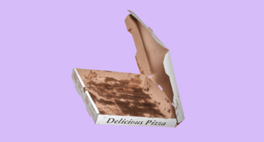 Pizza boxes are among the most common offenders when it comes to contamination. The problem is that oil often seeps into the cardboard and cannot be separated from the fiber, making that material less valuable, and less marketable, to buyers.