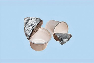 Single-use plastic cups, such as these yogurt cups, are considered trash and no longer recyclable in Cuyahoga and Summit counties.