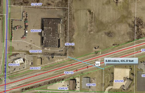 The area south of Terradiol's proposed site was part of the property when the company applied for a cultivator license.