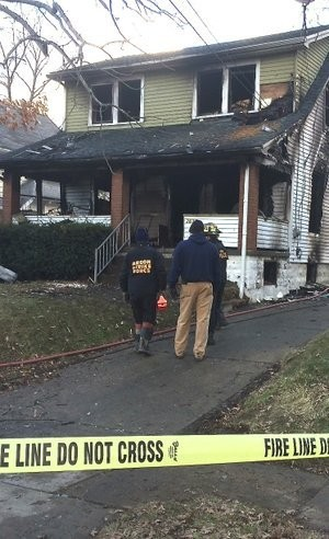 A Youngstown couple and their granddaughter were killed this morning when their house on Youngstown's south side caught fire.