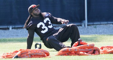 Trent Richardson say he plans to be practicing when training camp opens in late July.
