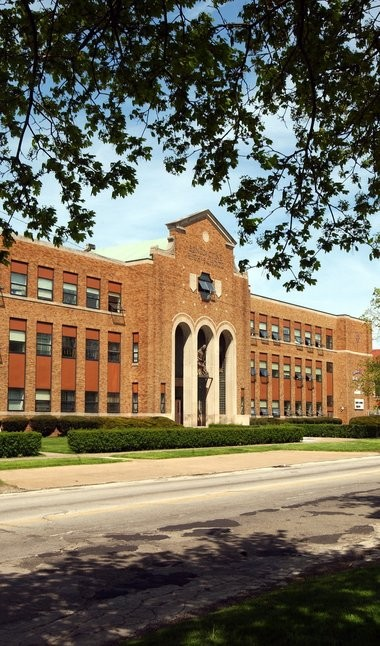 """Benedictine High has stayed on the near East Side since 1929, many buildings dating back to 1940. """"It's not for everyone,"""" said Principal Joe Gressock."""