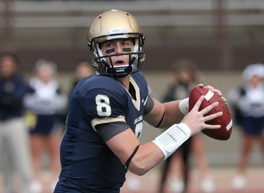 Mark Myers has a chance to break many of Tom Arth's passing records at JCU.